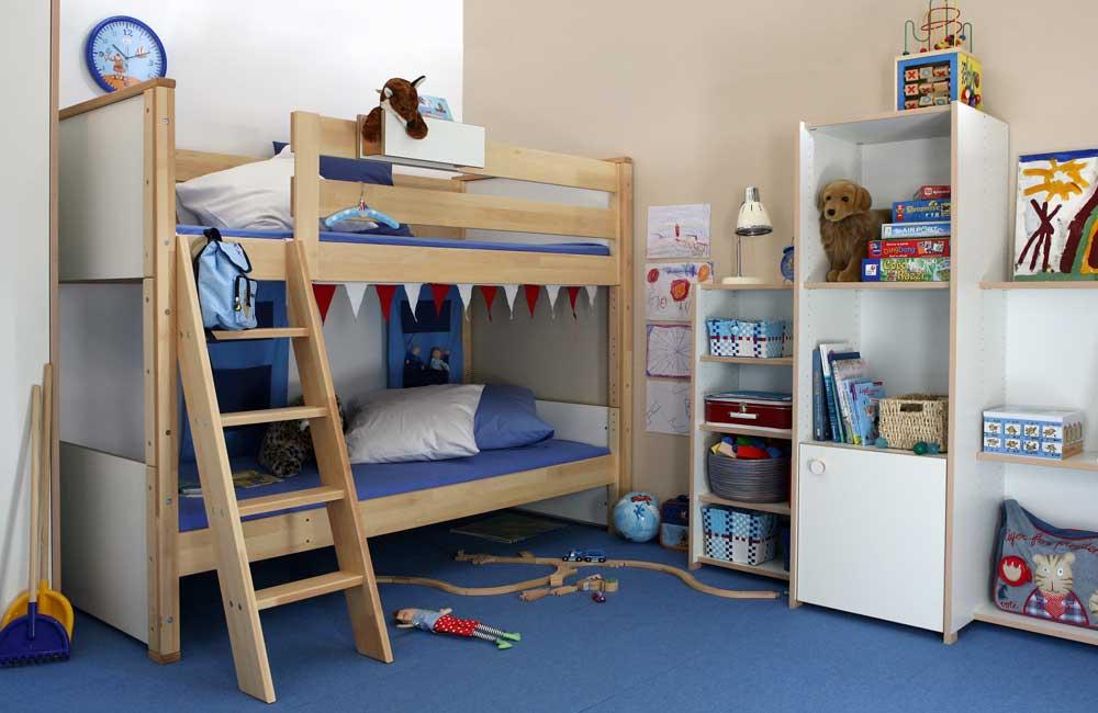 Etagenbett Ecklösung : Flexa betten etagenbett kinderbett plattformbett und