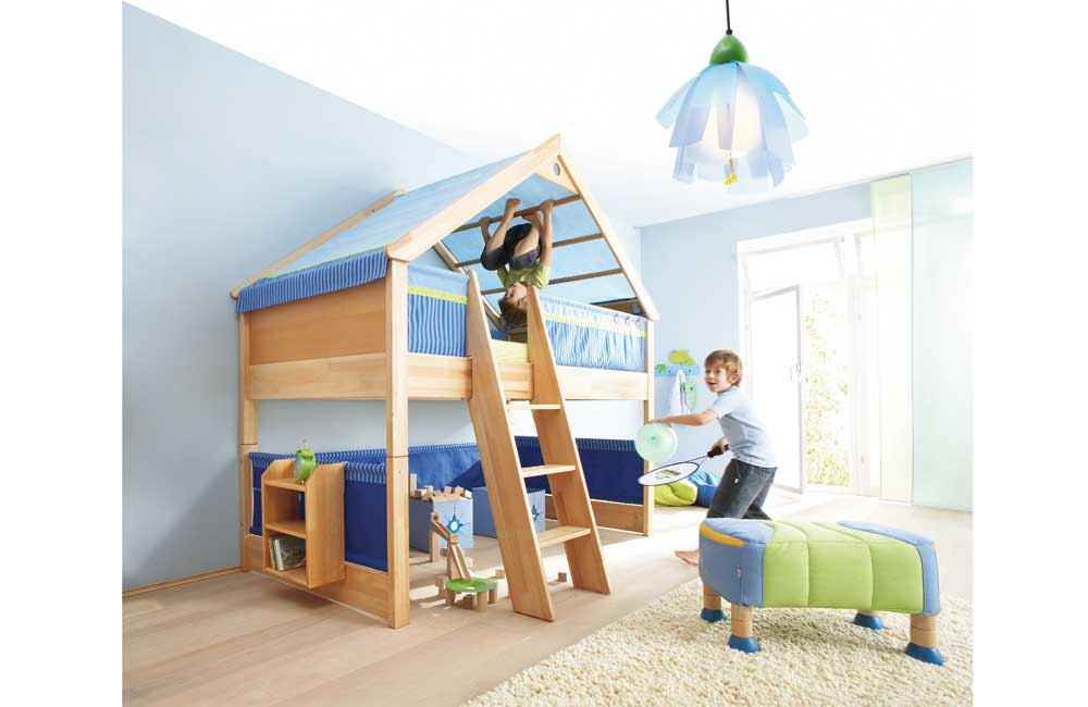 Abenteuerbett - Abenteuerbett Matti in blau | {Abenteuerbett 69}