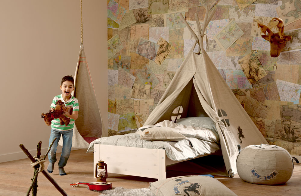 lifetime kinderbett mit zelt camp canyon. Black Bedroom Furniture Sets. Home Design Ideas