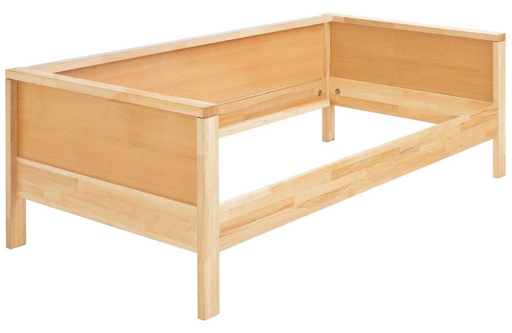 haba matti kinderbett couchversion in natur. Black Bedroom Furniture Sets. Home Design Ideas