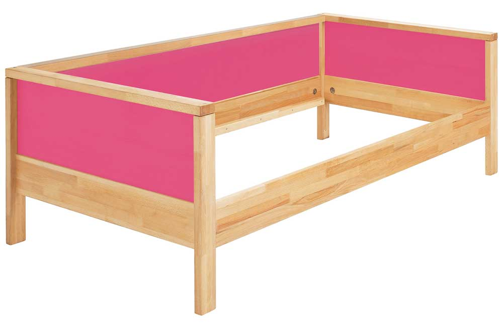 Haba Matti Kinderbett Couchversion in pink