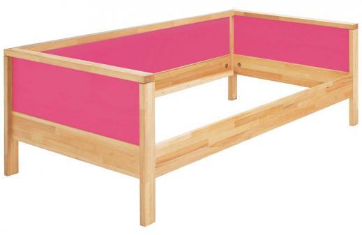 Haba matti kinderbett couchversion in pink - Bett mit ruckwand ...