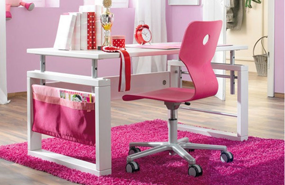haba matti kinderschreibtisch weiss pink. Black Bedroom Furniture Sets. Home Design Ideas