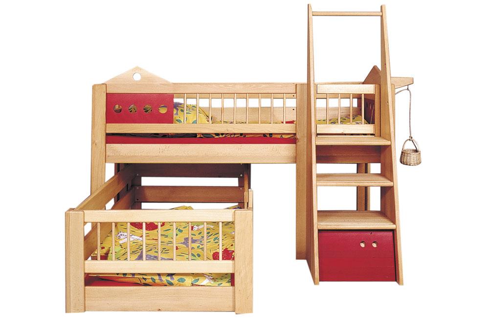 debreuyn hochbett hochbett villa. Black Bedroom Furniture Sets. Home Design Ideas