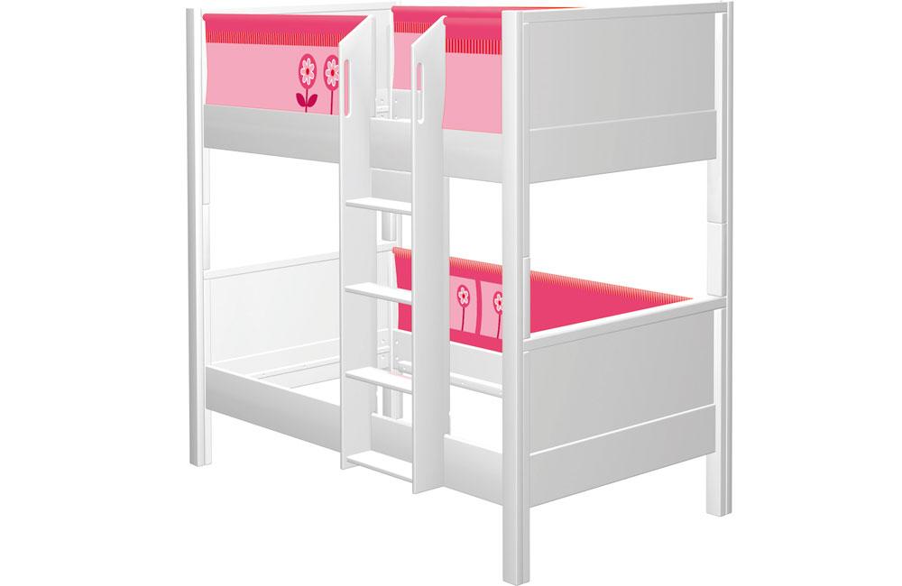 Etagenbett Pink : Teiliges stoffset pink rosa für halbhochbett und etagenbett