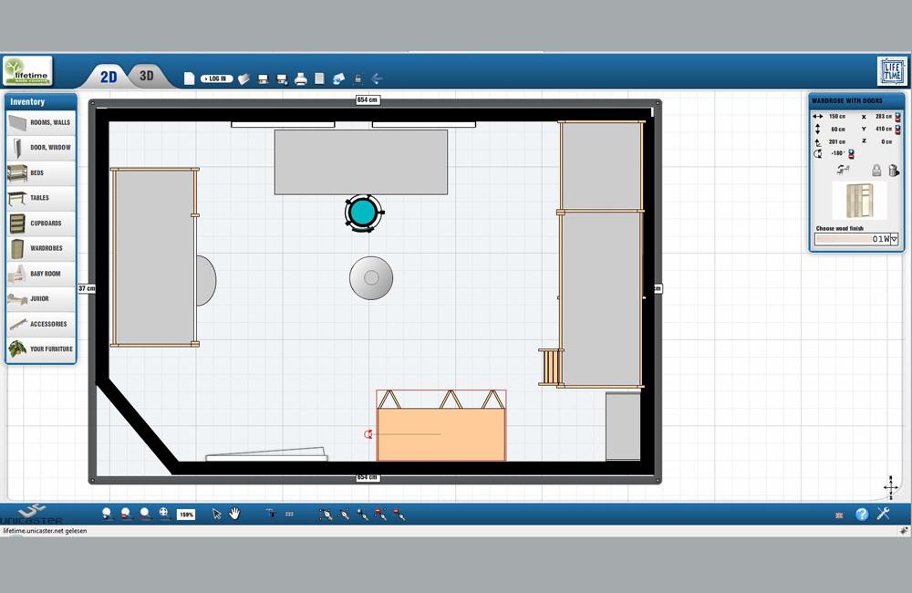Onlineplaner für das Kinderzimmer