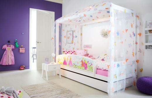lifetime himmelbett free bird weiss. Black Bedroom Furniture Sets. Home Design Ideas