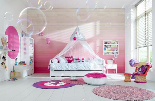 Lifetime Kinderbett mit Himmel Ibiza Bloom